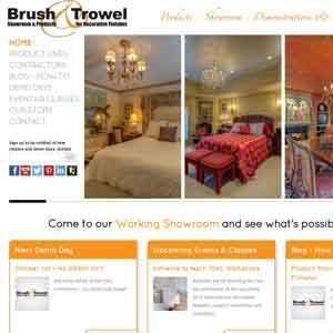 Brush and Trowel